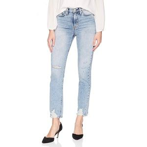 Hudson Jeans Zooey High Rise Crop 28 Dipout
